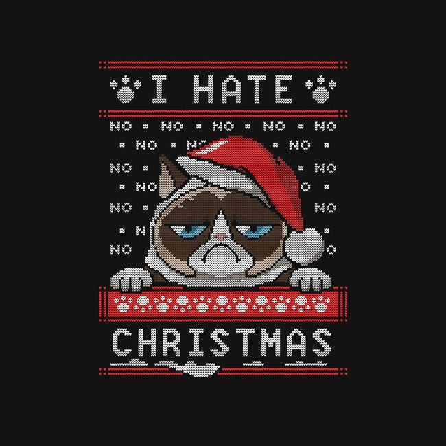 Grumpy Christmas-womens fitted tee-alemaglia
