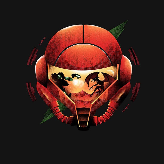 Super Samus-womens basic tee-dandingeroz