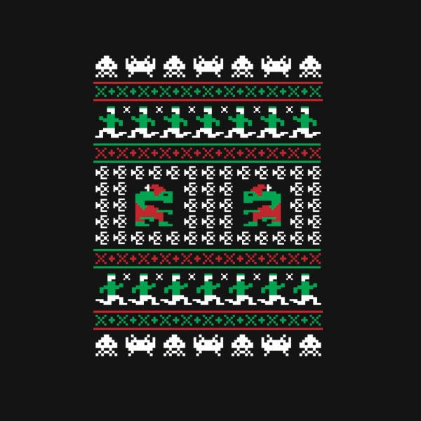 Games of Christmas Past-mens basic tee-Retro Review