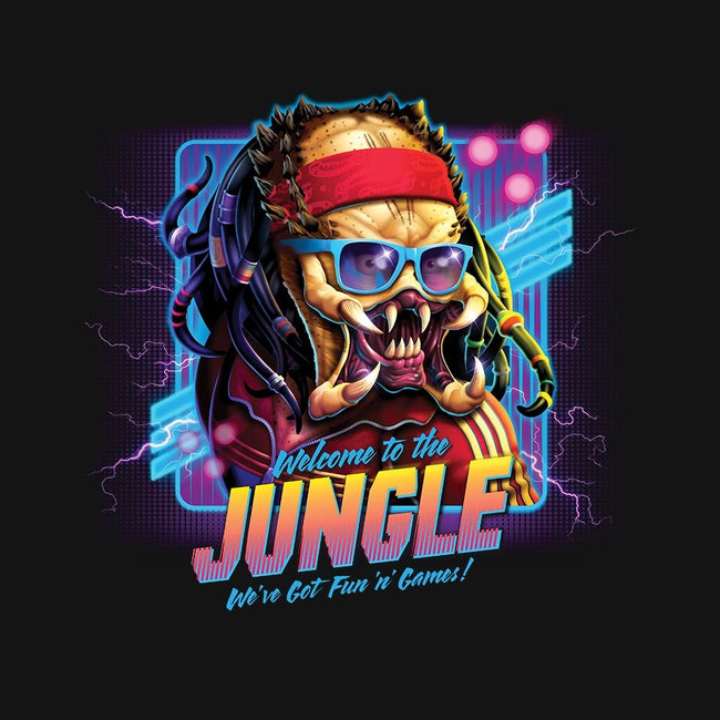 Welcome To The Jungle-youth basic tee-RockyDavies
