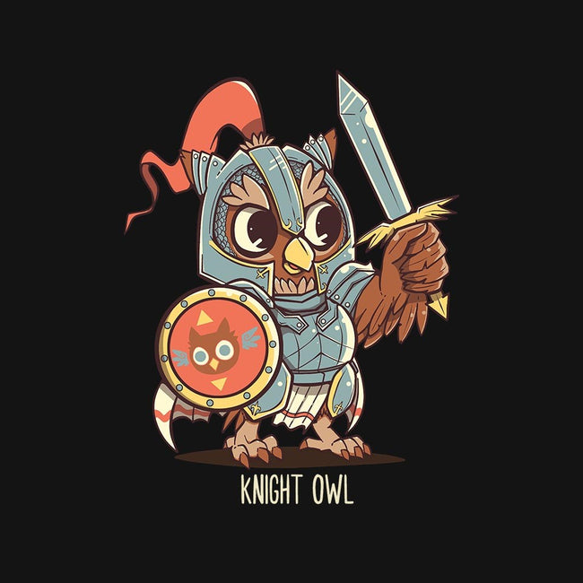 Knight Owl-mens basic tee-TechraNova