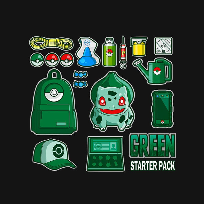 Green Starter Kit-youth basic tee-MIKELopez