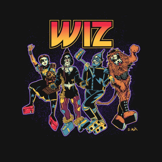 Off To Rock the Wiz-womens fitted tee-DonovanAlex