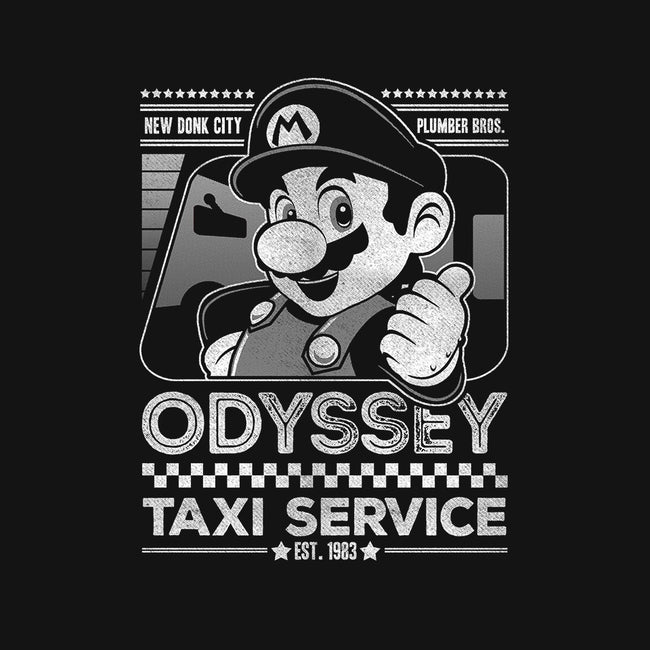 Odyssey Taxi Service-youth basic tee-Punksthetic