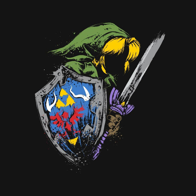 Hyrule Warrior-mens basic tee-DrMonekers