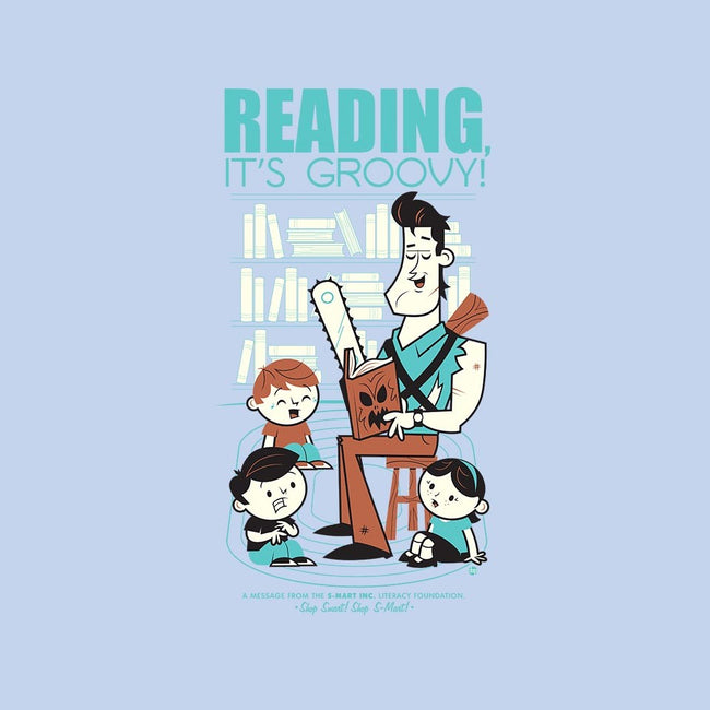 Reading is Groovy-unisex crew neck sweatshirt-Dave Perillo