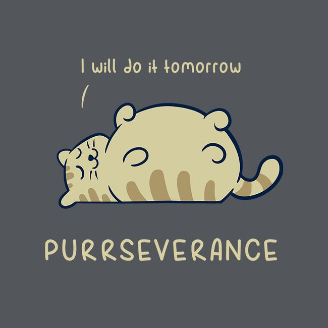Purrseverance-womens fitted tee-ItokoDesign