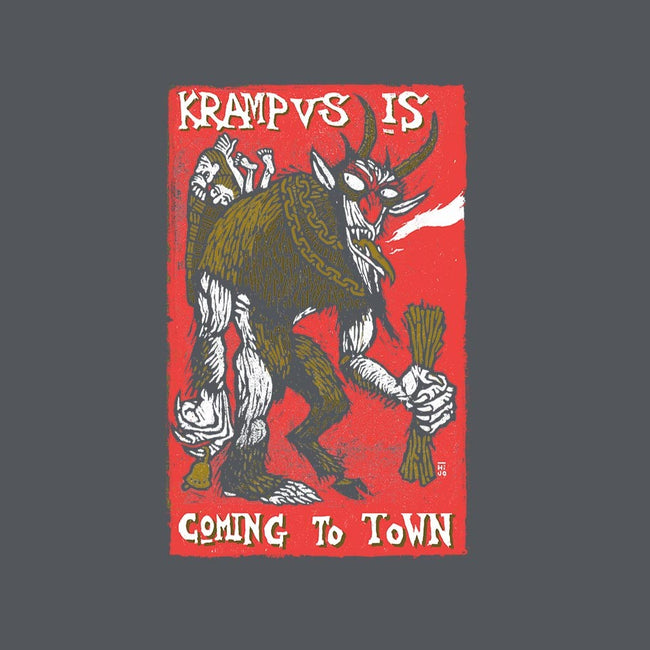 Krampus is Comin' To Town-youth basic tee-tomashijo