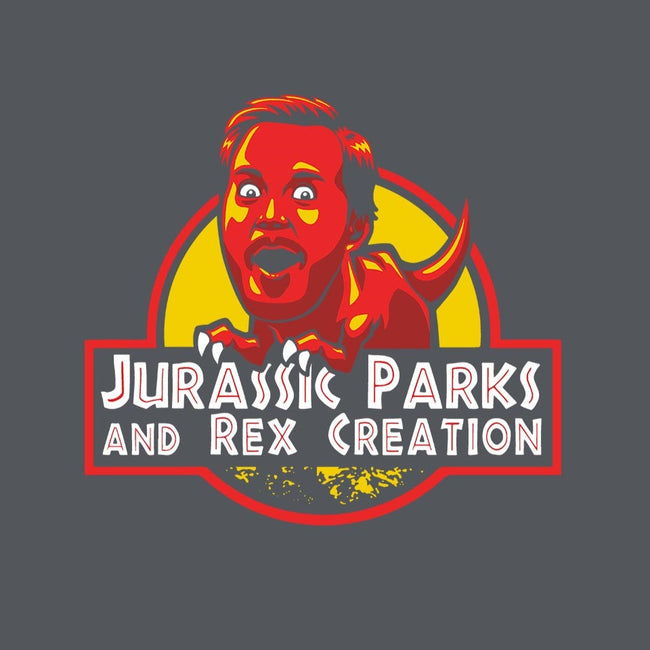 Jurassic Parks and Rex Creation-mens premium tee-Tabners