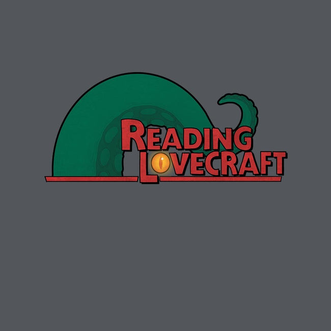 Reading Lovecraft-womens fitted tee-queenmob