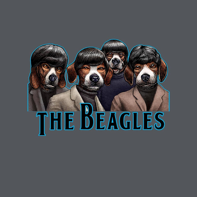 The Beagles-mens basic tee-ChetArt
