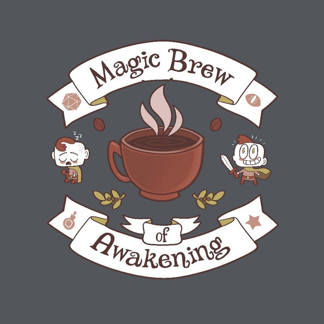 Magic Morning Brew-mens basic tee-queenmob