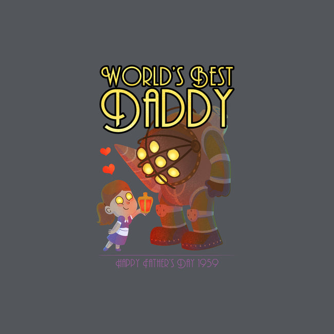 World's Best Big Daddy-mens basic tee-queenmob