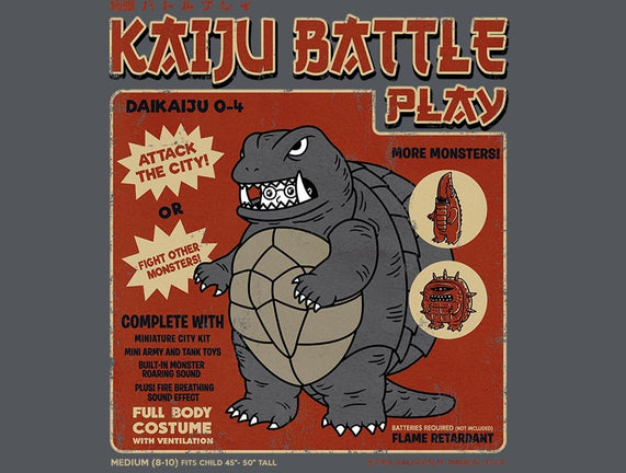 Kaiju Battle Player 4