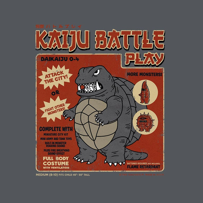 Kaiju Battle Player 4-mens basic tee-pigboom