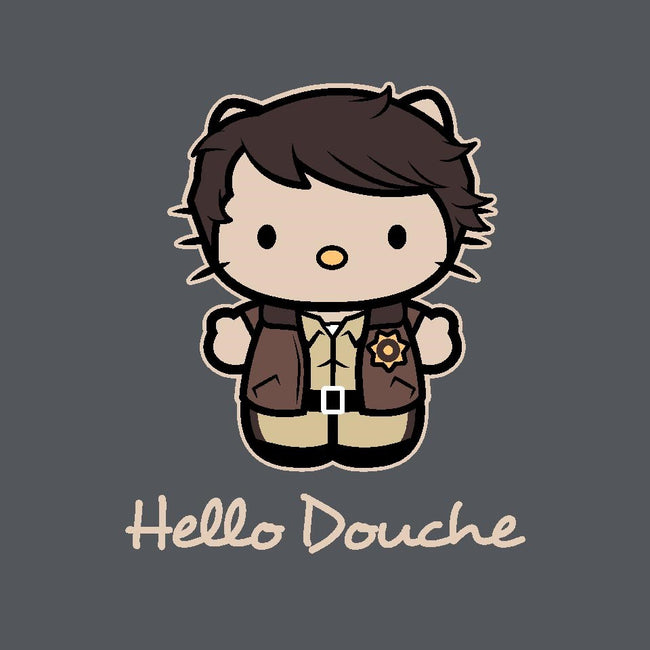 Hello Douche-unisex zip-up sweatshirt-Matt Parsons