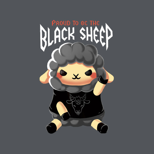 Black Sheep-womens fitted tee-BlancaVidal