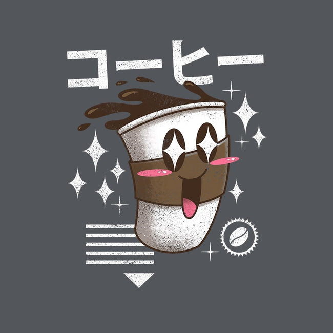 Kawaii Coffee-womens fitted tee-vp021