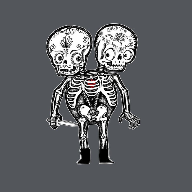 Calavera Twins-unisex zip-up sweatshirt-wotto