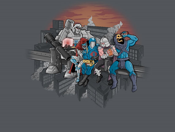 Villains Atop a Skyscraper