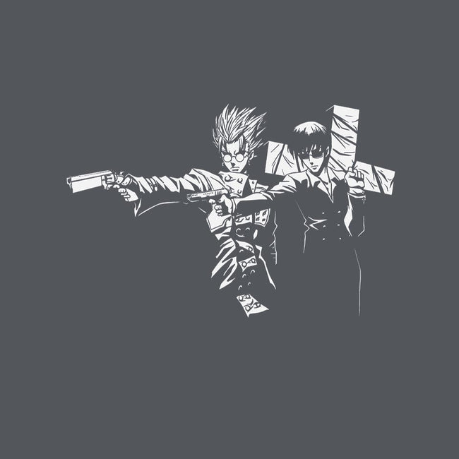 Trigun Fiction-unisex basic tank-Coinbox Tees