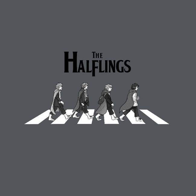 Halflings Road-mens basic tee-quietsnooze