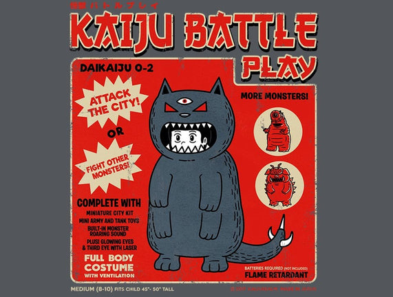 Kaiju Battle Player 2