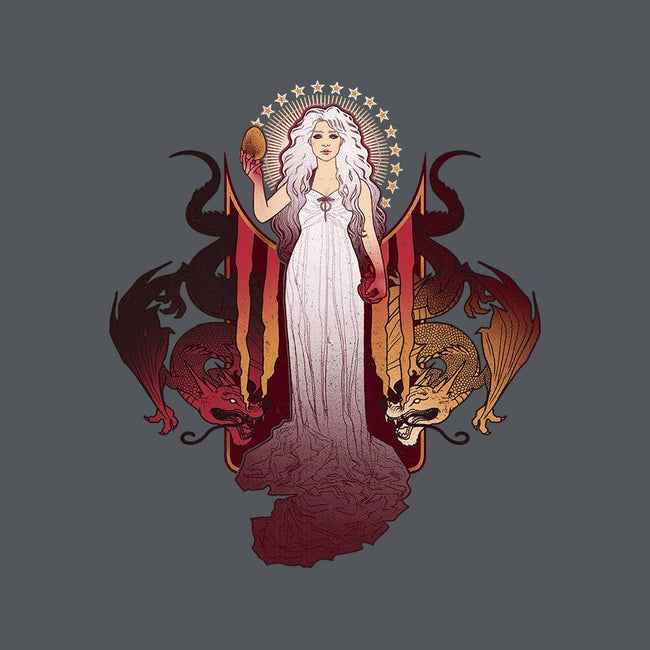 Our Mother of Dragons-womens fitted tee-MeganLara