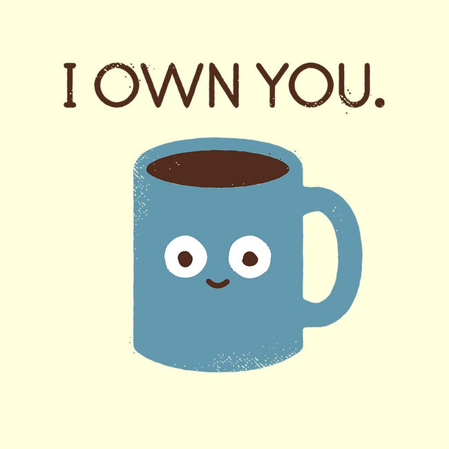 Coffee Talk-unisex crew neck sweatshirt-David Olenick