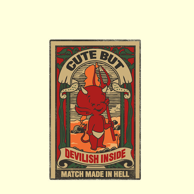 Match Made in Hell-unisex basic tank-heydale