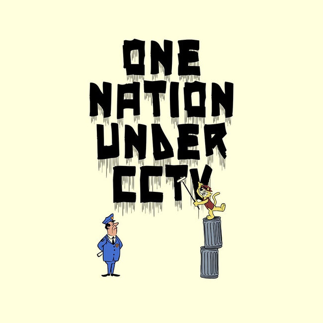 One Nation Under CCTV-unisex crew neck sweatshirt-butcherbilly