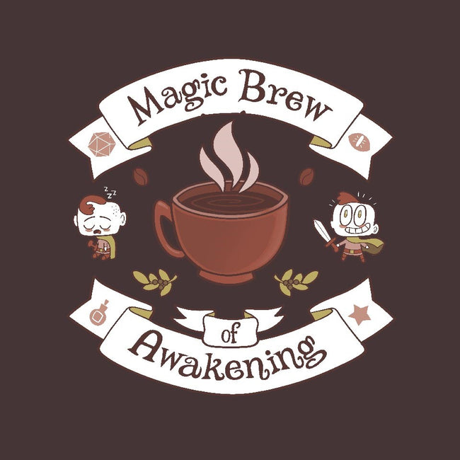 Magic Morning Brew-womens basic tee-queenmob