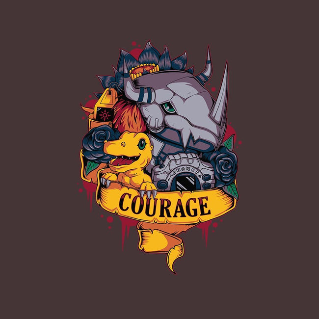 Courage Power-womens fitted tee-Typhoonic