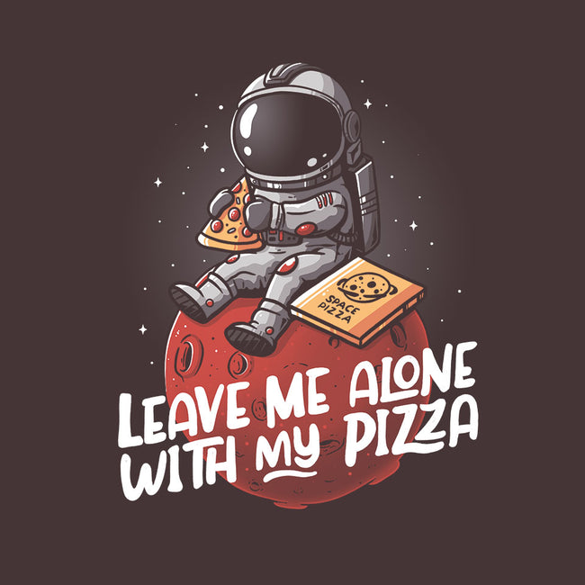 Leave Me Alone With My Pizza-unisex basic tank-eduely