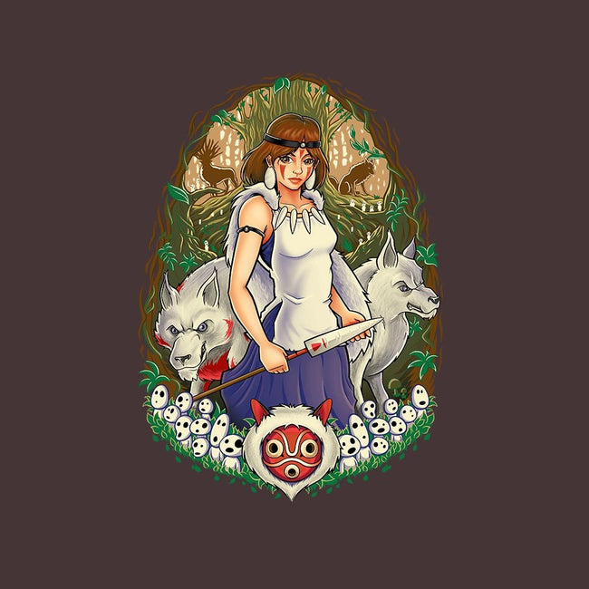 Guardian of the Forest-womens fitted tee-TrulyEpic