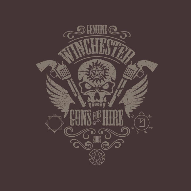 Winchester Guns for Hire-mens basic tee-jrberger