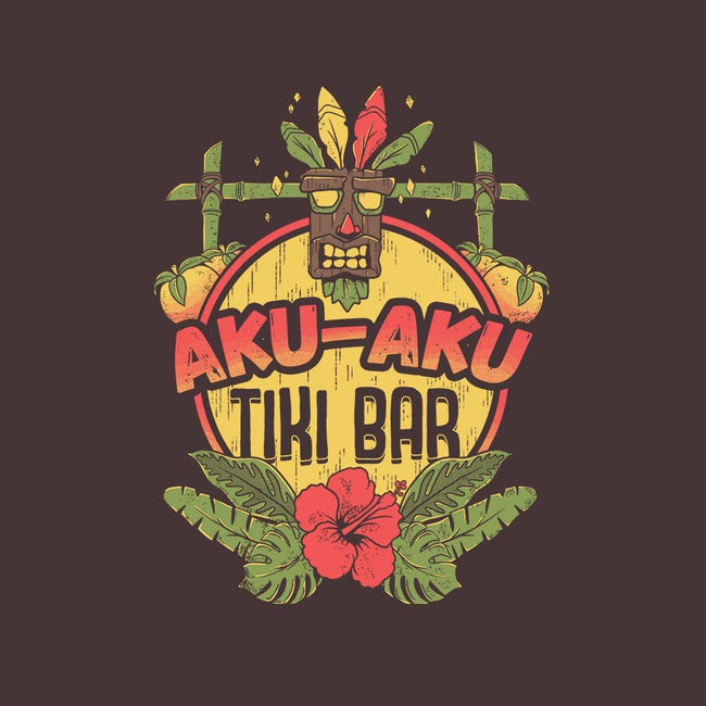 Aku Aku Tiki Bar-womens fitted tee-ilustrata