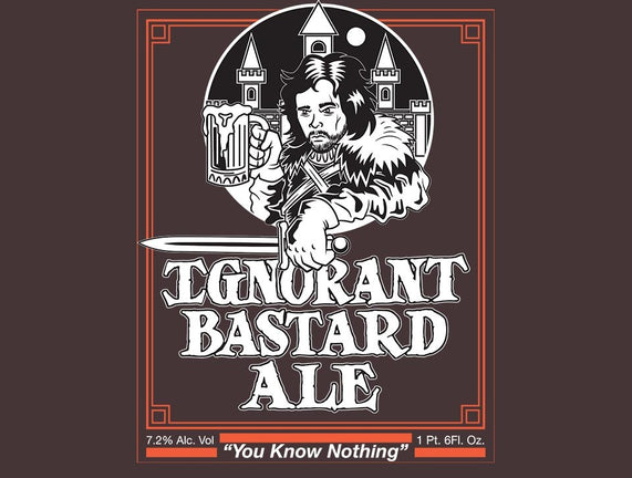 Ignorant Bastard Ale
