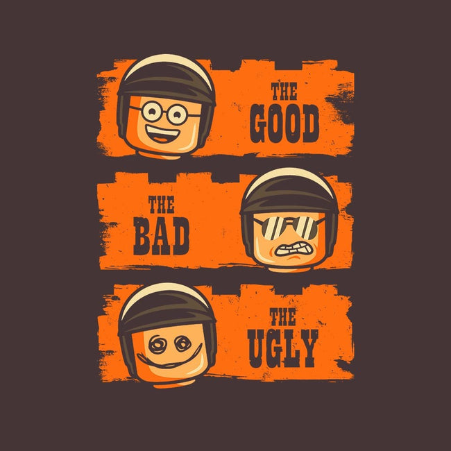 Good Cop, Bad Cop, Ugly Cop-womens fitted tee-BWdesigns