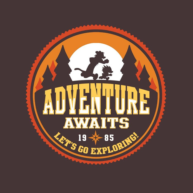 Let's Go Exploring!-mens basic tee-JBaz