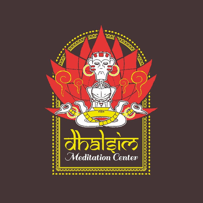 Dhalsim Meditation Center-youth basic tee-MdMbunny