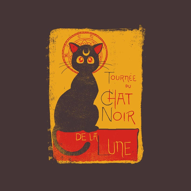 Chat Noir de la Lune-unisex zip-up sweatshirt-diha