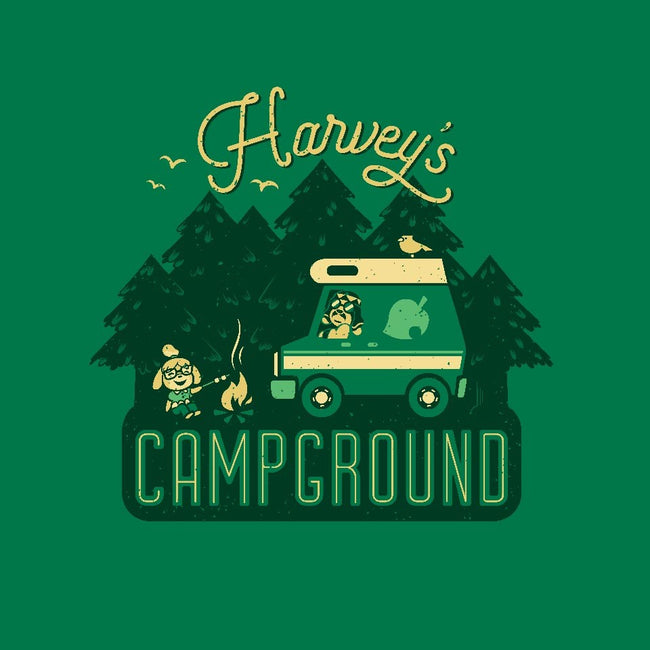 Harvey's Campground-unisex basic tank-Kat_Haynes