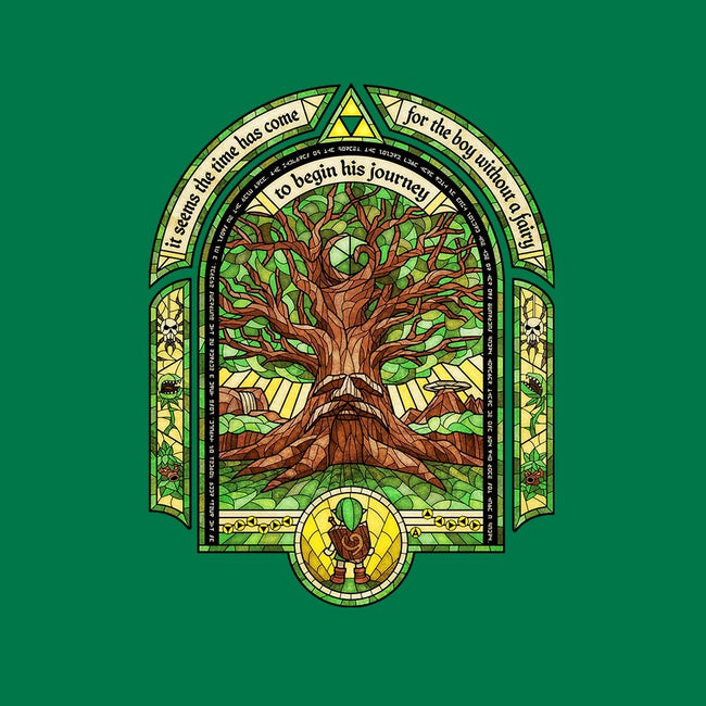 The Great Deku Tree-mens basic tee-CoryFreeman