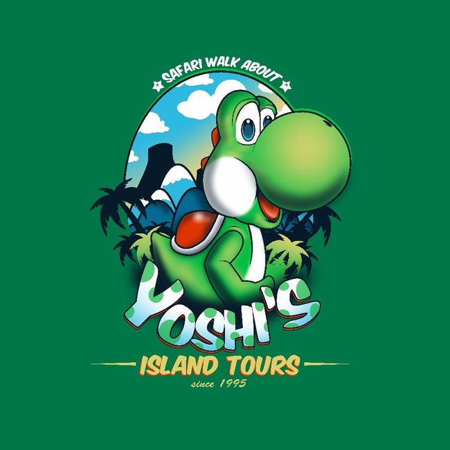 Yoshi's Island Tours-womens fitted tee-InkOne
