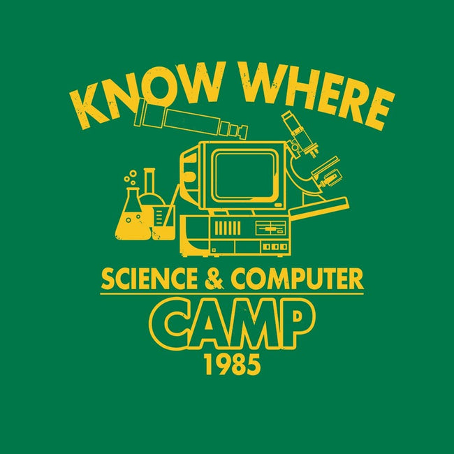 Know Where Camp-unisex crew neck sweatshirt-Boggs Nicolas