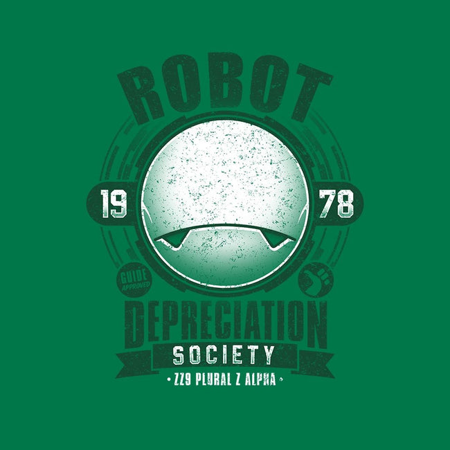Robot Depreciation Society-mens long sleeved tee-adho1982