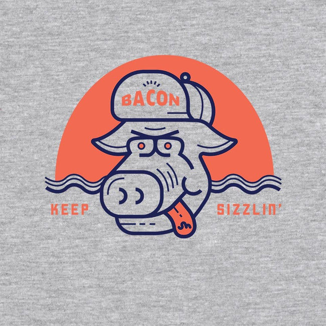 Keep Sizzlin'-unisex crew neck sweatshirt-Newhouse Designs