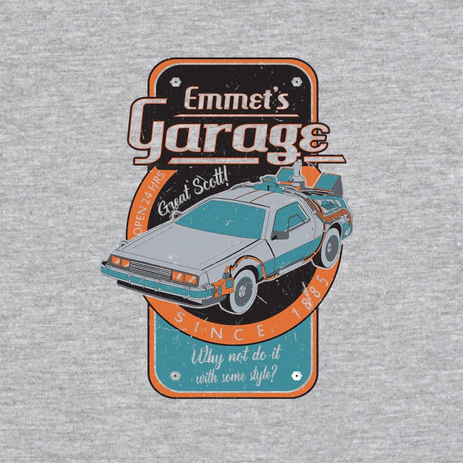 Emmet's Garage-unisex zip-up sweatshirt-dystopix