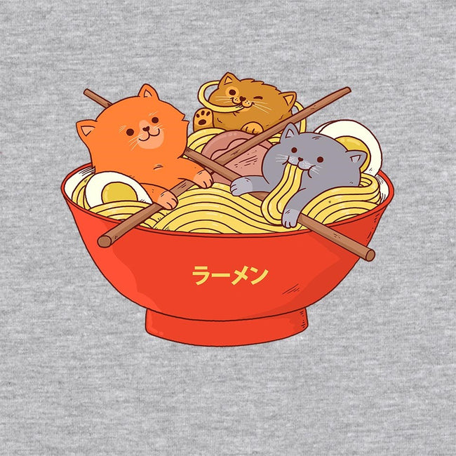 Ramen and Cats-unisex zip-up sweatshirt-ppmid